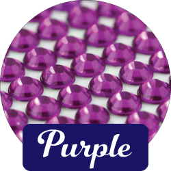 Purple Diamantes