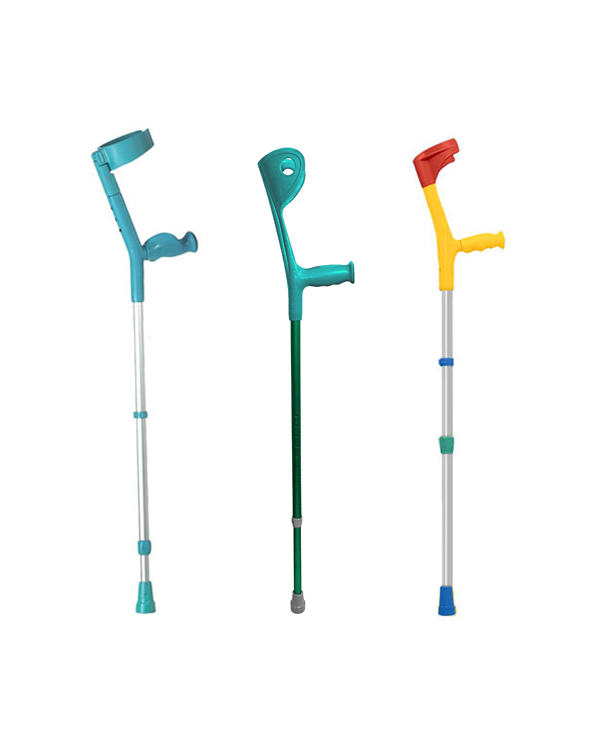 Pimp Mobility Coloured Cuff Crutches